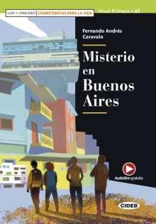 Fernando Andrés Ceravolo: Misterio en Buenos Aires, Buch