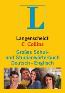 Langenscheidt Collins Großes Schul- und Studienwörterbuch Deutsch - Englisch, Buch