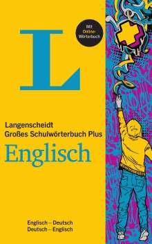 Langenscheidt Großes Schulwörterbuch Plus Englisch, 1 Buch und 1 Diverse