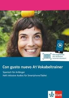 Con gusto nuevo A1. Vokabeltrainer (Heft + Klett Augmented), Buch