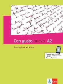 Con gusto nuevo A2. Trainingsbuch + MP3-CD, Buch