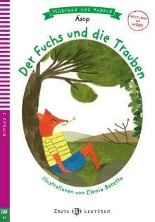 Äsop: Der Fuchs und die Trauben. Buch + Multi-ROM, Buch
