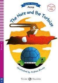 Äsop: The Hare and the Tortoise. Buch + Multi CD-ROM + Video, Buch