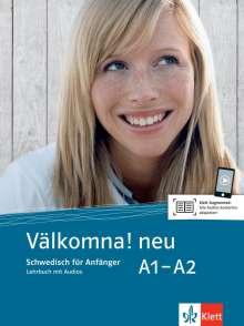 Välkomna! Lehrbuch mit 2 Audio-CDs A1-A2. Neue Ausgabe, Buch