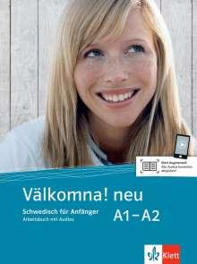 Välkomna! Neue Ausgabe. Arbeitsbuch A1-A2, Buch