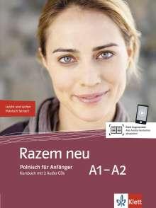 Razem neu. Kursbuch + 2 Audio-CDs, Buch