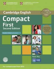 Peter May: Compact First. Student's Book Pack (Student's Book with answers with CD-ROM and Class Audio CDs(2)), Buch