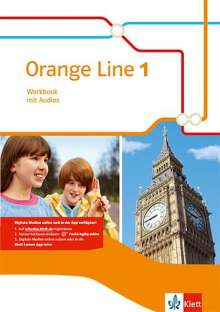 Orange Line 1. Workbook mit Audio-CD. Ausgabe 2014, Buch