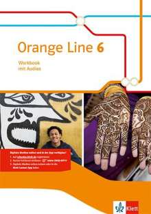 Orange Line 6. Workbook mit Audio-CD Klasse 10, Buch