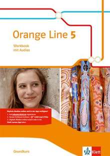 Orange Line 5 Grundkurs. Workbook mit Audio-CD Klasse 9, Buch