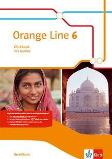 Orange Line 6 Grundkurs. Workbook mit Audio-CD Klasse 10, Buch