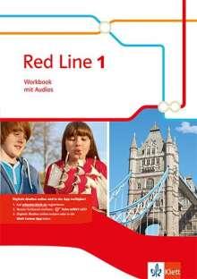 Red Line 1. Workbook mit Audio-CD. Ausgabe 2014, Buch