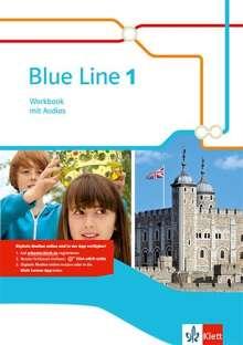 Blue Line 1. Workbook mit Audio-CD. Ausgabe 2014, 1 Buch und 1 Diverse