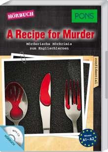 PONS Hörkrimi Englisch - A Recipe for Murder, CD