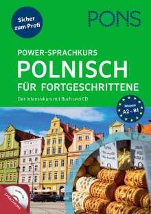 PONS Power-Sprachkurs Polnisch für Fortgeschrittene, Buch