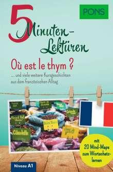 PONS 5-Minuten-Lektüren Französisch A1 - Où est le thym ?, Buch