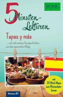 PONS 5-Minuten-Lektüren Spanisch A1 - Tapas y más, Buch