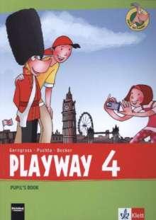 Playway ab Klasse 3. 4.Schuljahr. Pupil's Book, Buch