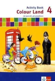 Colour Land ab Klasse 3. Activity Book mit CD-ROM und Audio-CD 4. Schuljahr, Buch