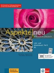 Ute Koithan: Aspekte neu B2. Lehr- und Arbeitsbuch mit Audio-CD. Teil 2, Buch