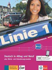 Stefanie Dengler: Linie 1 Österreich B1.2. Kurs- und Übungsbuch mit DVD-ROM, Buch