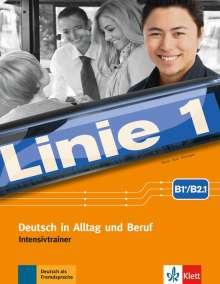 Linie 1 B1+/B2.1.  Intensivtrainer, Buch