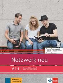 Stefanie Dengler: Netzwerk neu A1.1. Kurs- und Übungsbuch mit Audios und Videos, Buch