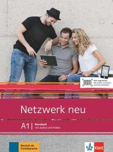 Stefanie Dengler: Netzwerk neu A1. Kursbuch mit Audios und Videos, Buch