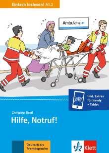 Christine Rettl: Hilfe, Notruf!, Buch