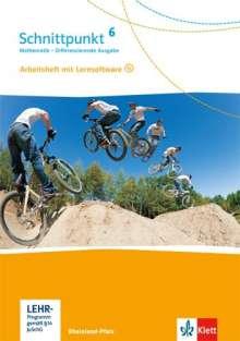 Schnittpunkt Mathematik. 6. Schuljahr. Arbeitsheft mit Lösungsheft und Lernsoftware. Differenzierende Ausgabe. Rheinland-Pfalz, Buch