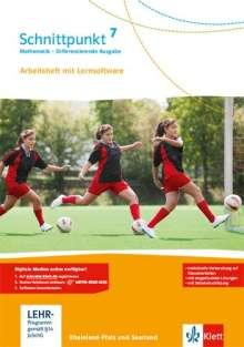 Schnittpunkt Mathematik - Differenzierende Ausgabe für Rheinland-Pfalz. Arbeitsheft mit Lösungsheft und Lernsoftware 7. Schuljahr, Buch