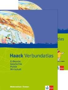 Haack Verbundatlas. Mit Arbeitsheft Kartenlesen. Sekundarstufe I. Ausgabe für Niedersachen und Bremen, Buch