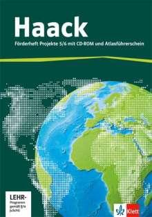 Der Haack Weltatlas für Sekundarstufe 1. 5/6.Schuljahr. Förderheft Projekte mit Atlasführerschein und Übungssoftware, Buch