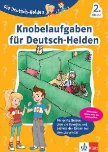 Die Deutsch-Helden Knobelaufgaben für Deutsch-Helden 2. Klasse, Buch