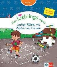 Birgit Ebbert: Klett Mein Lieblings-Block Lustige Rätsel mit Zahlen und Formen, Buch
