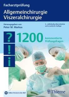 Facharztprüfung Allgemeinchirurgie, Viszeralchirurgie, 1 Buch und 1 Diverse
