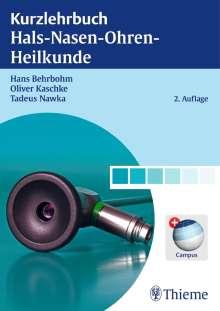 Hans Behrbohm: Kurzlehrbuch Hals-Nasen-Ohren-Heilkunde, Buch