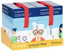 Walter Anton: I care Lernkarten Pflege - Set (im Umkarton), Diverse