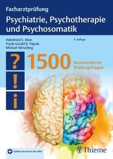 Facharztprüfung Psychiatrie, Psychotherapie und Psychosomatik, 1 Buch und 1 Diverse