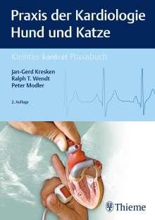 Jan-Gerd Kresken: Praxis der Kardiologie Hund und Katze, Buch