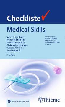 Sven Hengesbach: Checkliste Medical Skills, Buch