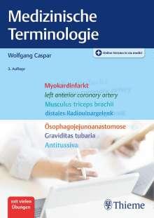 Wolfgang Caspar: Medizinische Terminologie, 1 Buch und 1 Diverse