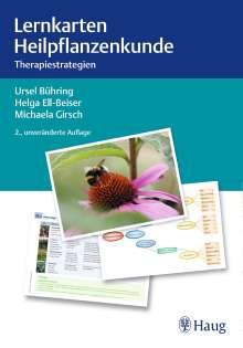 Ursel Bühring: Lernkarten Heilpflanzenkunde, Diverse