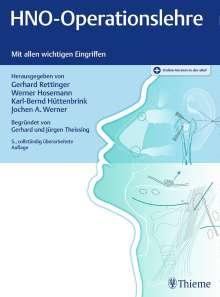 HNO-Operationslehre, 1 Buch und 1 Diverse