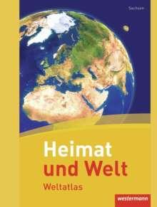 Heimat und Welt Weltatlas. Sachsen, Buch