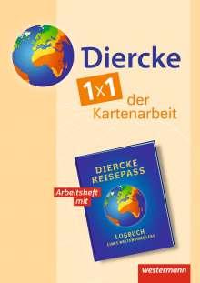 Diercke Weltatlas 2. Arbeitsheft Kartenarbeit. Allgemeine Ausgabe., Buch