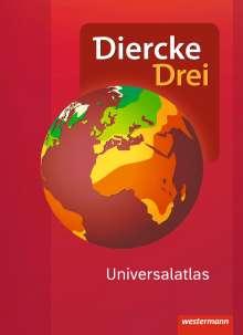 Diercke Drei Universalatlas - Aktuelle Ausgabe, Buch