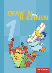 Denken und Rechnen 1. Schülerband. Grundschule. Hamburg, Bremen, Hessen, Niedersachsen, Nordrhein-Westfalen, Rheinland-Pfalz, Saarland und Schleswig-Holstein, Buch