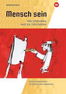 Michael Fresta: Mensch sein: Udo Lindenberg malt die 10 Gebote, Buch
