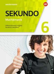 Sekundo 6. Schülerband. Mathematik für differenzierende Schulformen. Nordrhein-Westfalen, Buch